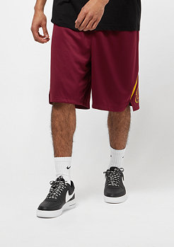 NIKE Basketball Short NBA CLeveland  team red/university gold