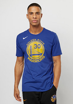 NIKE T-Shirt NBA Golden State Warriors Curry rush blue