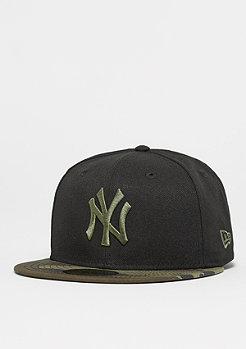 New Era 59Fifty MLB New York Yankees woodland green/rifle green