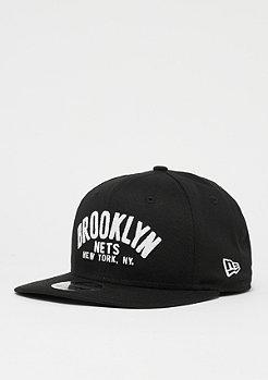 New Era 9Fifty Original Fit NBA Brooklyn Nets black/owhite
