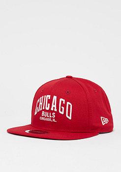 New Era 9Fifty Original Fit NBA Chicago Bulls scarlet/o.white