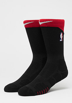 NIKE NBA Elite Quick Crew black/univerisity red/white