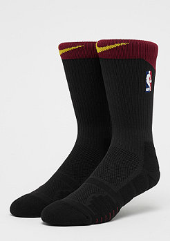 NIKE NBA Elite Quick Crew black/team red/univerity gold