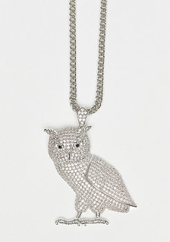 King Ice The Owl silver