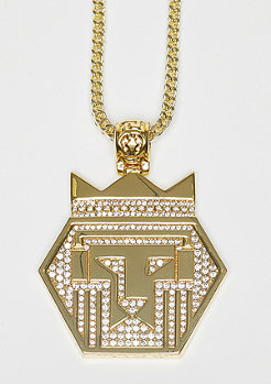 King Ice Fox Empire Medallion gold