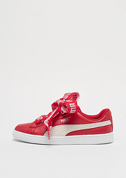 Puma Basket Heart torreador/white