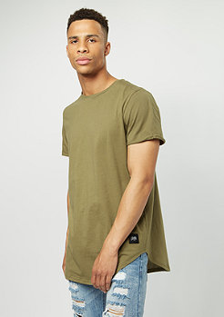 Sixth June T-Shirt Rounded Bottom khaki