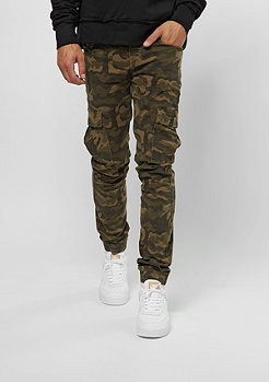 Sixth June Denim Cargo Pocket green camo