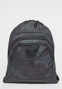Urban Classics Ball Gym Bag black/camo/black