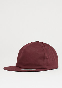 Flexfit Unstructured 5-Panel maroon