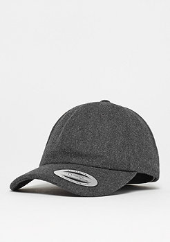Flexfit Low Profile Melton Wool Dad dark grey