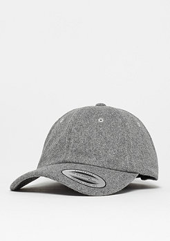 Flexfit Low Profile Melton Wool Dad heather grey