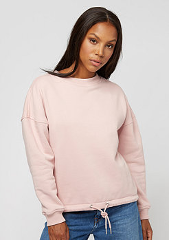 Urban Classics Oversized Crewneck light rose