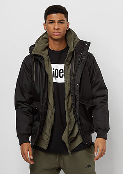 Urban Classics Heavy Hooded black