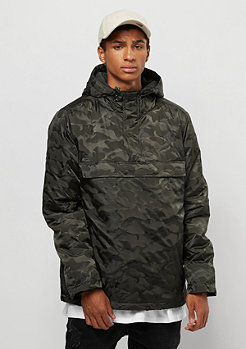Urban Classics Padded Pull Over Jacket dark olive