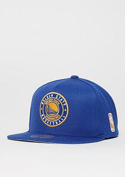 Mitchell & Ness Circle Patch Team NBA Golden State Warriors royal