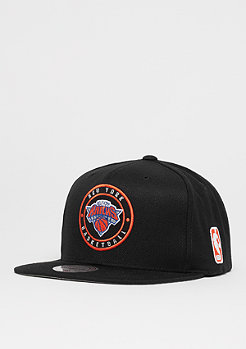 Mitchell & Ness Circle Patch Team NBA New York Knicks black