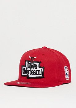 Mitchell & Ness I Love This Team NBA Chicago Bulls red