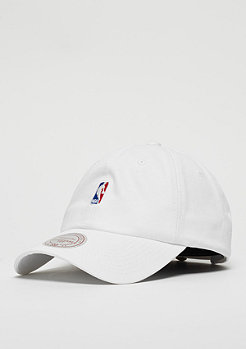 Mitchell & Ness NBA Logo Low Pro white