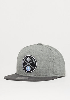 Mitchell & Ness NBA Heather Reflective Denver Nuggets grey/charcoal