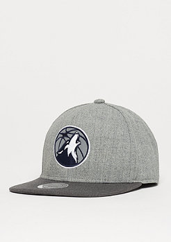 Mitchell & Ness Heather Reflective NBA Minnesota Timberwolves grey/charcoal