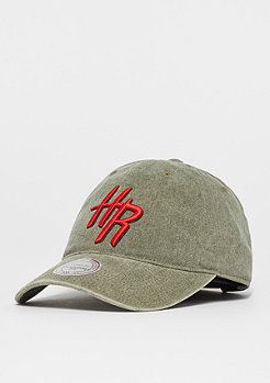 Mitchell & Ness Blast Wash Slouch NBA Houston Rockets olive