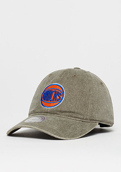 Mitchell & Ness Blast Wash Slouch NBA New York Knicks olive