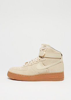 NIKE Air Force 1 Hi SE muslin/muslin/gum med brown