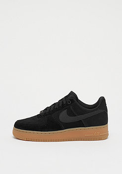 NIKE Wmns Air Force 1 07 SE black/black/gum med brown