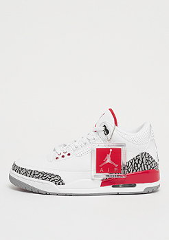 JORDAN Air Jordan 3 Retro Katrina white/fire red/cement grey