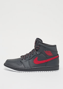 JORDAN Air Jordan 1 Mid anthracite/gym red/white