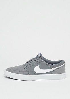 NIKE SB Solarsoft Portmore II cool grey/white/black