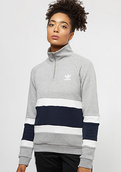 adidas Halzip Sweater medium grey heather