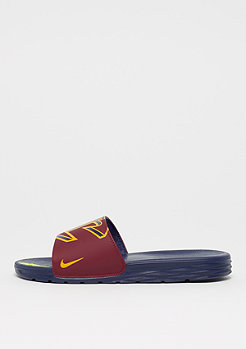 NIKE Benassi Solarsoft NBA team red/university gold-college navy