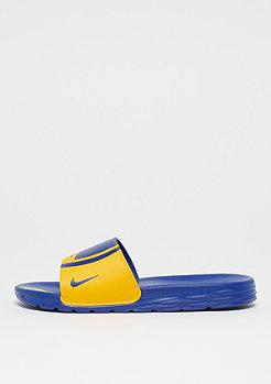NIKE Benassi Solarsoft NBA amarillo/rush blue-rush blue