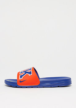 NIKE Benassi Solarsoft NBA brilliant orgne/rush blue-flt silver