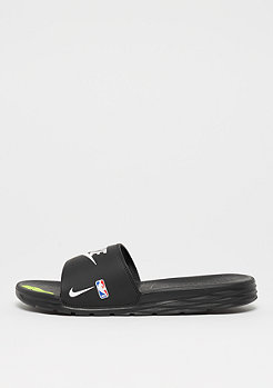 NIKE Benassi Solarsoft NBA black/white-game royal-university red