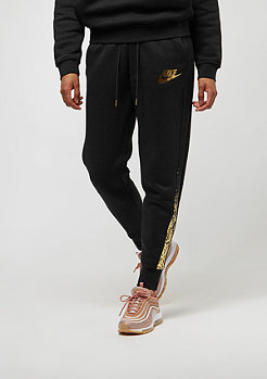 NIKE Rally Pant Regular Metallic black/black
