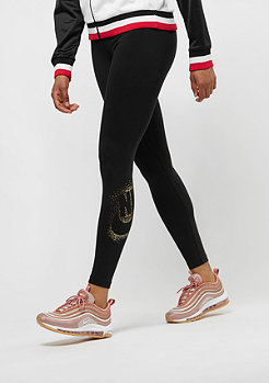 NIKE Leggings Metallic black