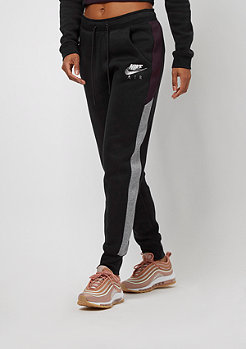NIKE Rally Pant Regular Air black/carbon heather/port wine