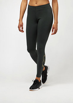 NIKE Leggings Metallic outdoor green/