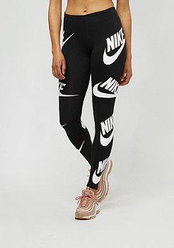 NIKE Leggings Seasonal Leg A See black/white