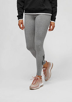 NIKE Leggings Leg A See carbon heather/black