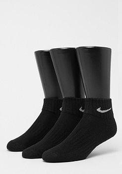 NIKE Cushion Quarter 3er black/white