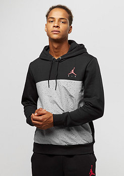 Jordan Flight Fleece Cement PO black