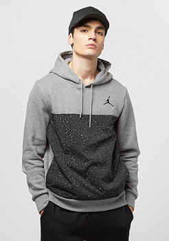 Jordan Flight Fleece Cement PO carbon heather