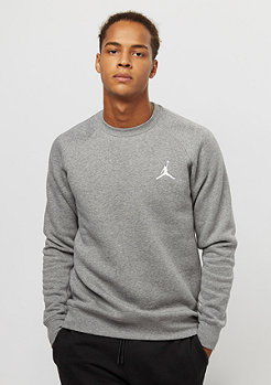 Jordan Flight Fleece carbon heather/white