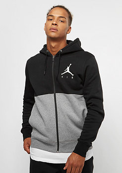 JORDAN Jumpman Air GFX Fleece FZ black/carbon heather