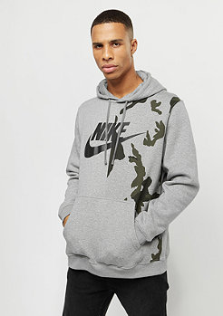 NIKE AOP FLC Club dark grey heather/black