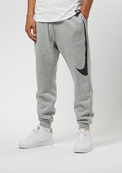 NIKE Pant Hybrid FLC dark grey heather/black